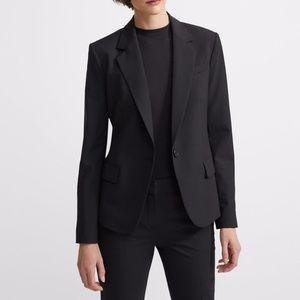 Theory Gabe N Edition Black Blazer Jacket Size 8